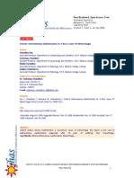 Uterine Arteriovenous Malformation as a Rare Cause of Menorrhagia