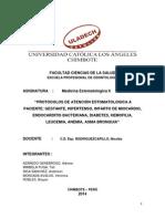 Protocolos de Atencion Estomatologica