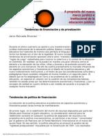 A Proposito Del Nuevo Marco Juridico e Institucional de La Educacion Publica