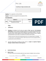 Travel Policy - Schools Division - ECs