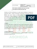 Ficha Tecnica Para La Produccion de Caucho Tecnicamente Especificado (Tsr)