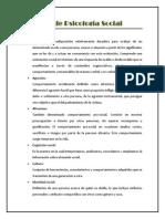 Glosario de Psicología Social