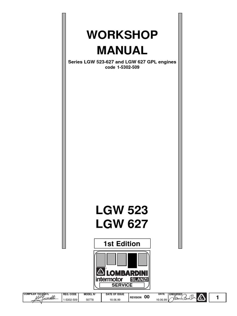 work shop manual lgw 523 627 matr 1 5302 509 carburetor vehicle rh scribd com