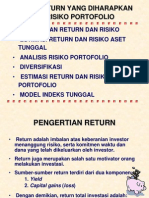 4 Return Dan Resiko Portofolio1