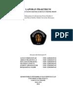 Laporan Praktikum Proses Manufaktur Jurusan Teknik Mesin Universitas Brawijaya.pdf