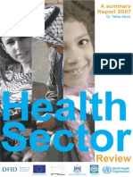 Final Health Sector Review