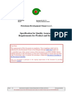 SP-1171 Specification for Quality Assurance Requirements for Product and Service_Rev2