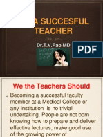 Be a Successful Teacher
