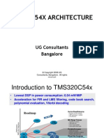 TMS320C54x Architecture