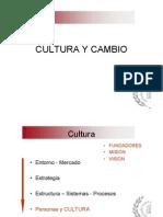 Cultura y Cambio