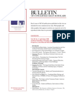 Bulletin of Concerned Asian Scholars