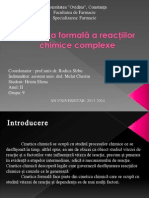 Cinetica Reactiilor Complexe