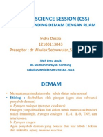 Clinical Science Session (Css) Dd Demam Dengan Ruam (Dr Wiwiek) Fix
