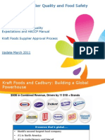 Kraft Supplier Forum_SQE_ Supplier Approval_2011
