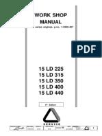 Work Shop Manual GR 15 Matr 1-5302-467