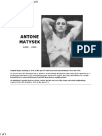 Antone Matysek - Muscle Control