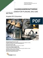 Handbuch Kleinwasserkraftwerke 2012-Dez
