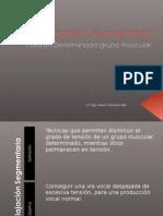 7.- Relajación segmentaria