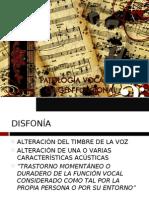 8.- PATOLOGÍA VOCAL DE ORIGEN FUNCIONAL