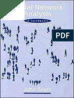 John P Scott-Social Network Analysis