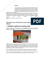 Mejorar El Contraataque. Jordi Ribera
