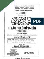 4. Ihyau Ulumi'd Din (namaz) - Imam Gazali