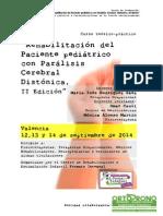 Curso Rehabilitación del Paciente pediátrico con Parálisis Cerebral Distónica, II Edición