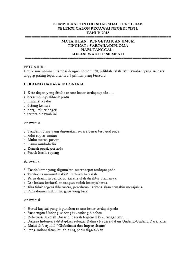 Soal Ukg Bahasa Indonesia Smp 2016 Dan Kunci Jawaban Download File Guru