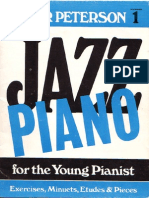 Oscar Peterson Jazz Piano for the Young Pianist 1
