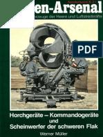 (Waffen-Arsenal Sonderband S-21) Horchgeräte-Kommandogeräte und Scheinwerfer der Schweren Flak