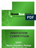Green Beat 09 Innovation Competition Set1