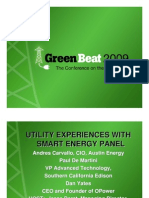 Green Beat 09 Utility Experiences With Smart Energy