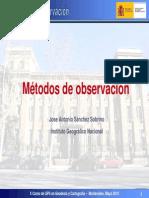 Metodos de Observacion