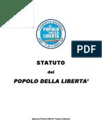 Statuto Del Pdl