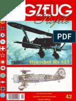 (Flugzeug Profile No.42) Henschel Hs 123