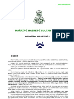 Maarif-i Sultan Veled