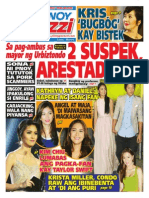 Pinoy Parazzi Vol 7 Issue 72 June 9 - 10, 2014