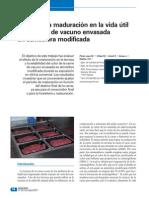 Efecto de La Maduracion en La Vida Util de La Carne de Vacuno Envasada en Atmosfera Modificada