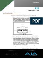 AJA FS2 QuickStart Guide v2.0