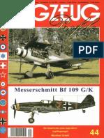 (Flugzeug Profile No.44) Messerschmitt Bf 109 G/K