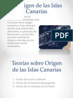 El Origen de Las Islas Canarias
