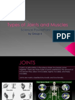 Science VI - Joints and Muscles