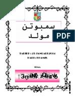 Buku Program Maulud 2014