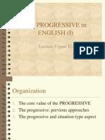 The Progressive in English