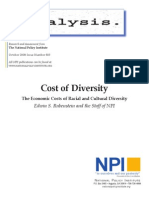 Cost of Diversity