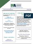 IMA Newsletter - Feb 08
