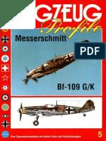 (Flugzeug Profile No.5) Messerschmitt Bf 109 G/K