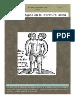8. Los Prodigios en La Literatura Latina