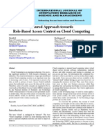IJIRSM Shruthi S Secured Approach Towards Role Based Access Control on Cloud Computing