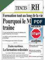 Formation Tout Au Long de La Vie Pourquoi Le Maroc Traine